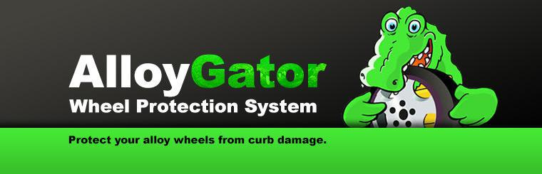 Protect your alloy wheels from curb damage with the AlloyGator Wheel Protection System.