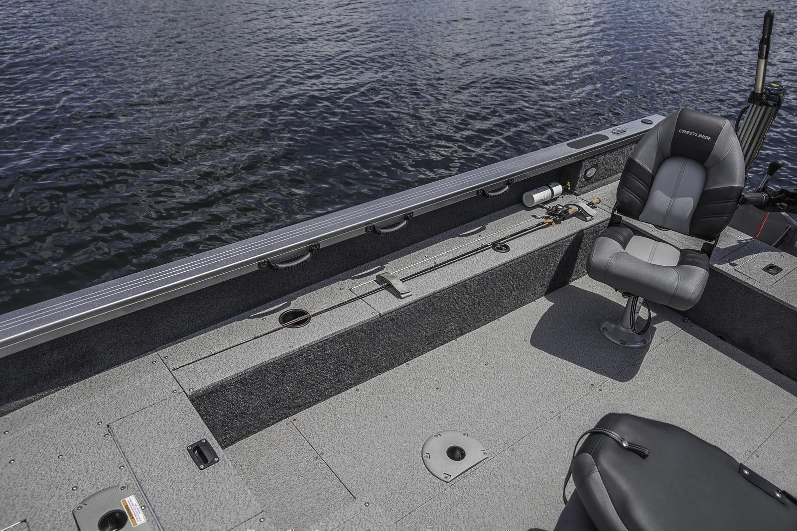2019 Crestliner Pro Tiller 1650 For Sale In Ravenna Oh Pontoon Boat Wiring Diagram Lo Starboard Rod Locker