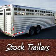 New and Used Stock Trailers Livestock Trailers Custom Horse Trailer Sales Parts and Service