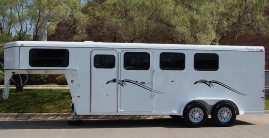 Titan Trailer Mfg offers a full line of Cargo, Stock and Horse Trailers and are available from Central States Trailers today!