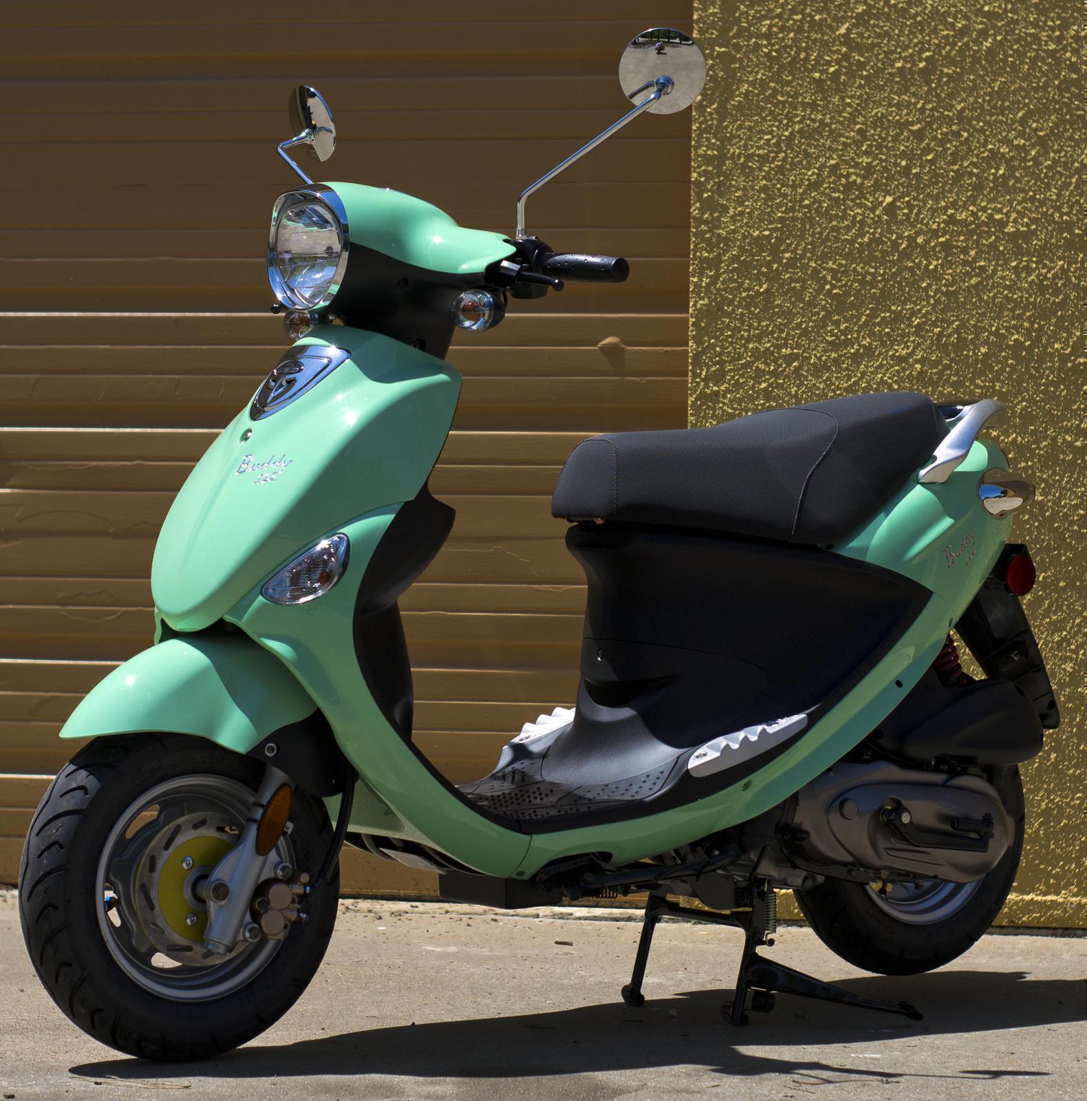 2018 Genuine Scooters Buddy 125 Seafoam