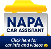 Napa Car Assistant: Click here for car info and videos.