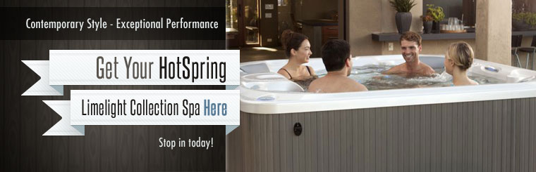 HotSpring Limelight Collection Spa: Click here to contact us!