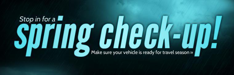 Make sure your vehicle is ready for travel season.