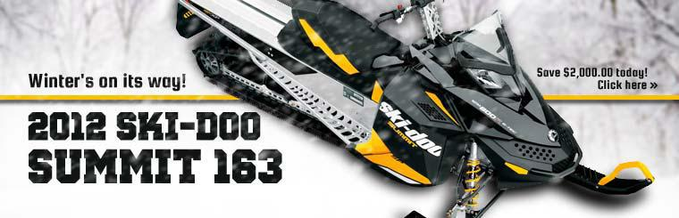 2012 Ski-Doo Summit 163: Save $2,000.00 today! Click here to view the model.
