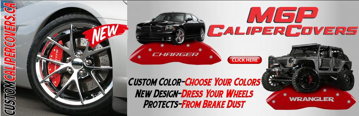 Custom Color Caliper Covers. Custom Logo Design & Materials Perfect Way To Dress Up Your New Wheels • Lowest Prices •