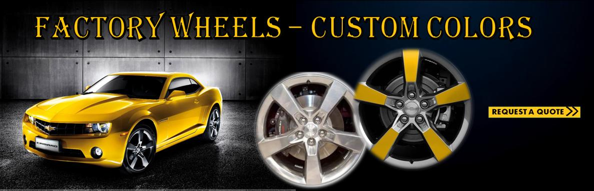 Factory Wheels-Custom Colors336