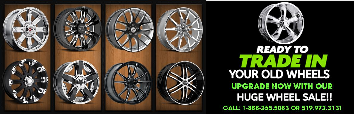 Trade In Your Old Wheels