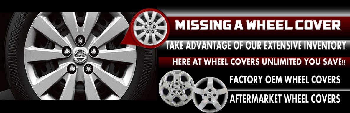 Missing A Wheel Cover, Wheel Covers carries over 5000 different styles to choose from.