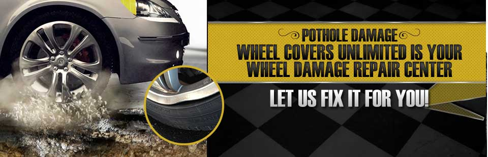 Wheel Covers Unlimited is your wheel damage repair center! Click here to contact us.