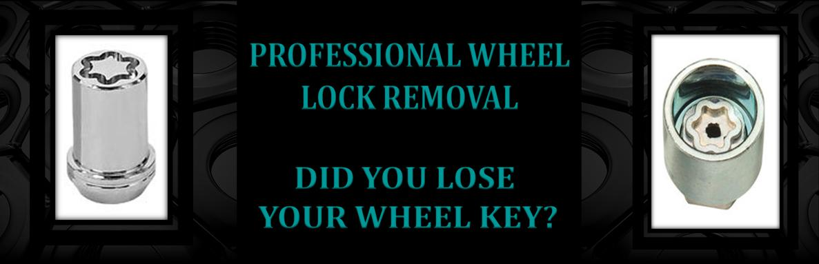Wheel Lock Removal