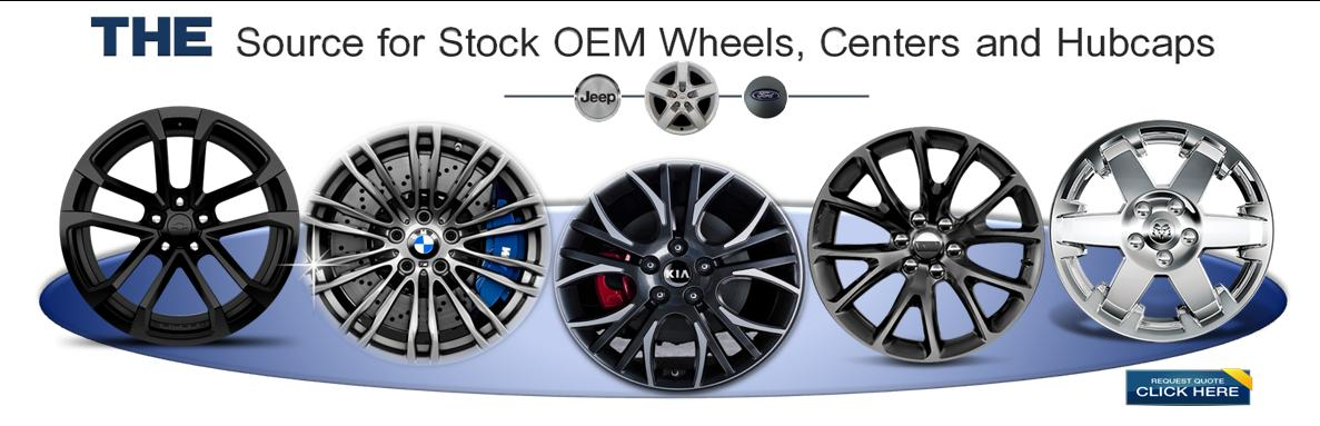 The Source for Stock OEM Wheels, Centres and Hubcaps