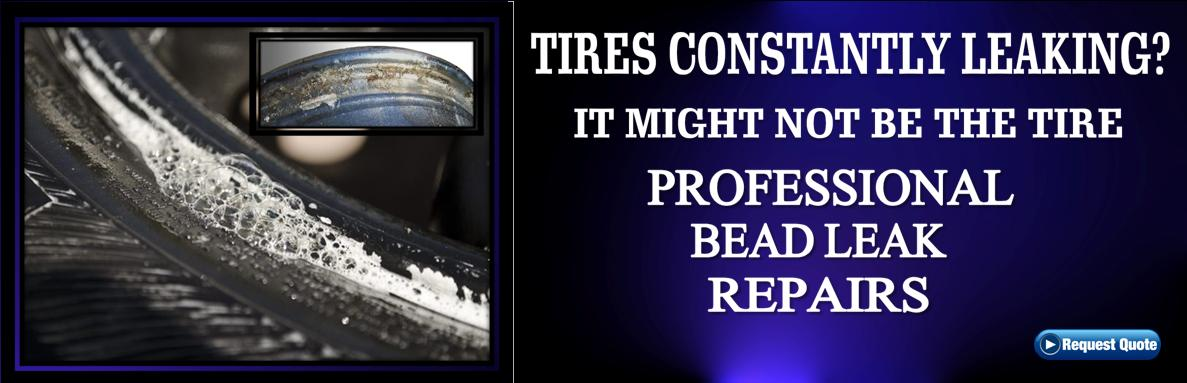 Tires constantly leaking? It might not be your tires.