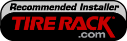 We are a recommended Tire Rack Installer