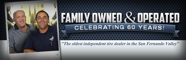 Hank's Tire is the oldest independent tire dealer in San Fernando Valley! Celebrating 60 years of being family owned and operated! Click here to learn more about us.