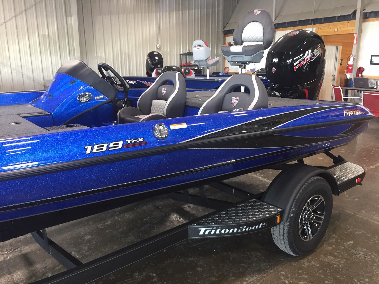 2019 Triton Boats 189 TrX 150 Mercury ProXS 4s for sale in