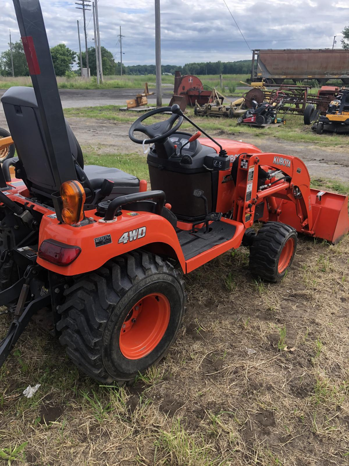 Agricultural Tractors from Kubota Sterling Farm Equipment