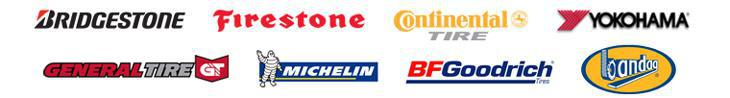 We proudly carry products by Bridgestone, Firestone, Yokohama, Continental, General, Michelin®, BFGoodrich® and Bandag.