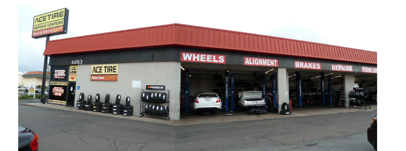 ACE TIRE CENTERS of KEARNY MESA