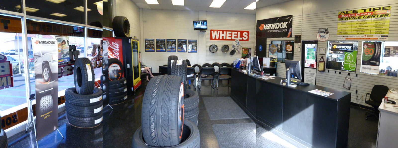 INSIDE ACE TIRE CENTERS OF KEARNY MESA