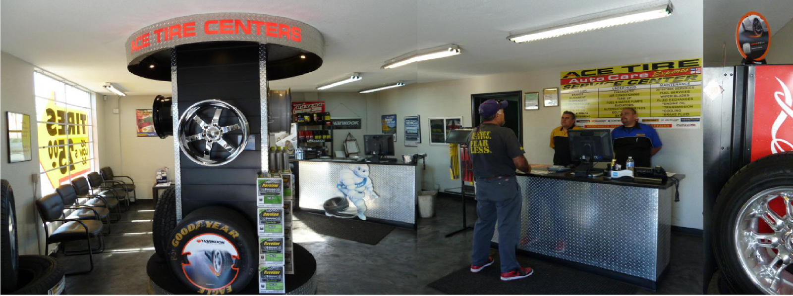 INSIDE ACE TIRE CENTERS of CHULA VISTA