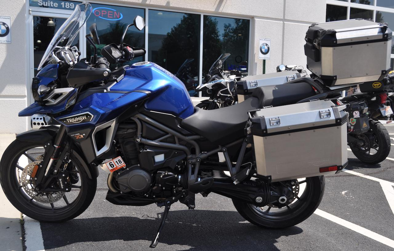 2017 triumph tiger explorer xrx low for sale in dulles, va