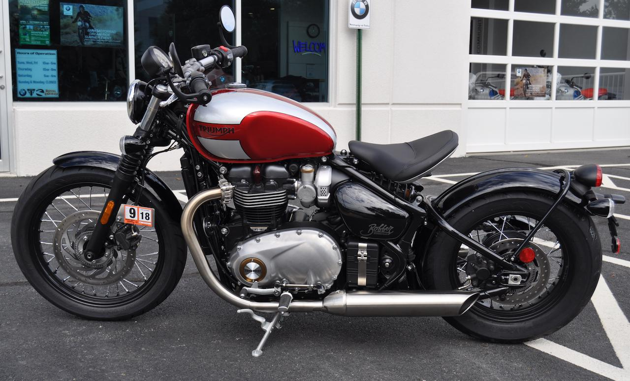 2018 triumph bonneville bobber for sale in dulles, va