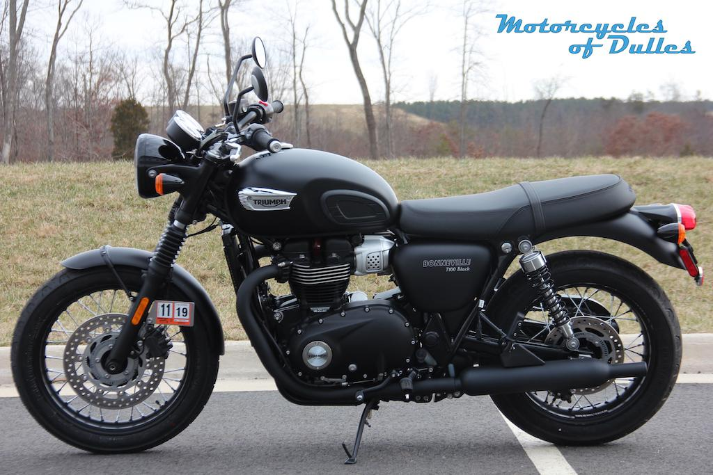 2019 Triumph Bonnevill T100 Black For Sale In Dulles Va