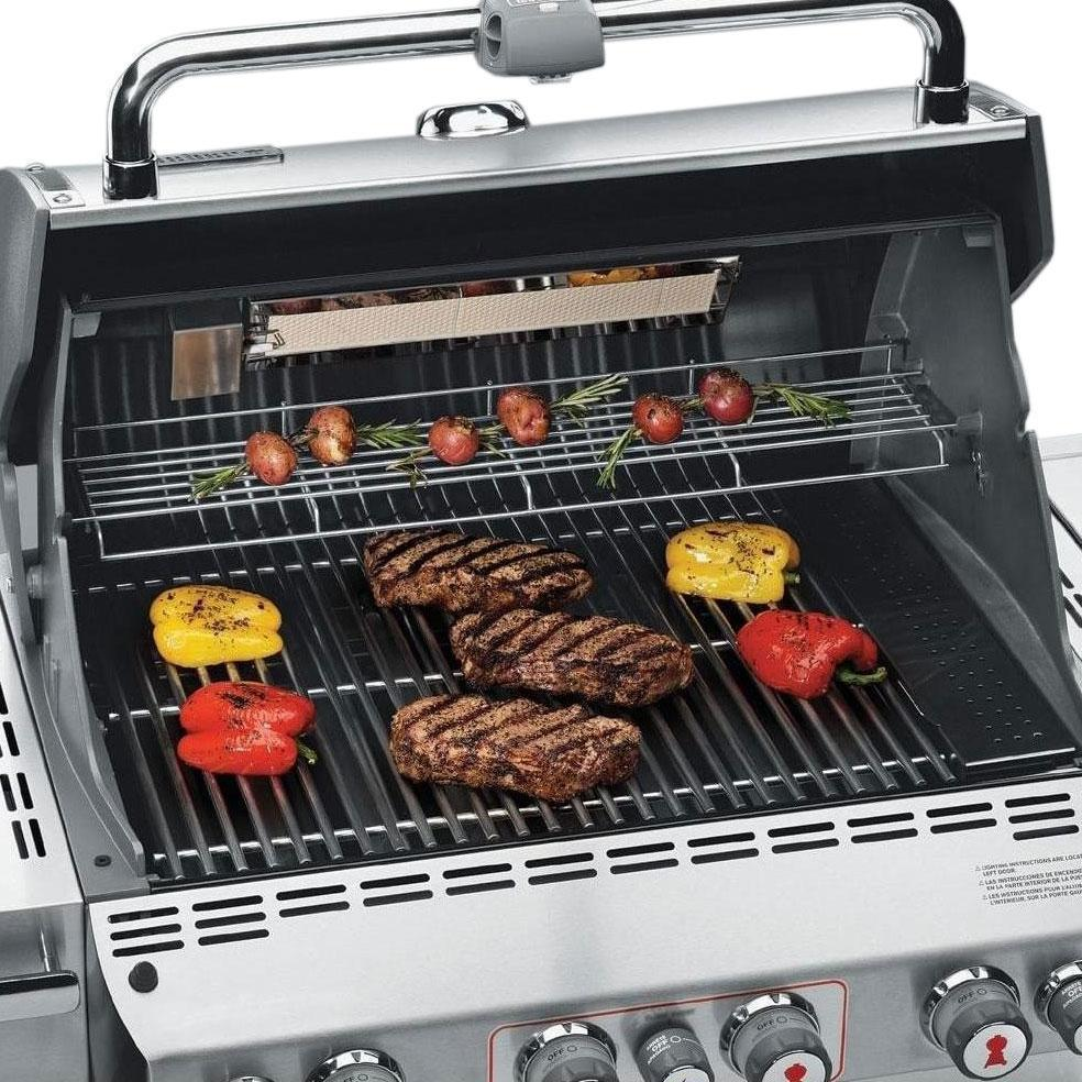 Weber Grills 2019 Summit S-470 Stainless Steel Propane
