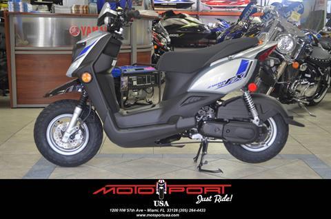 2018 Yamaha Zuma 50fx For Sale In Miami Fl Motoport Usa Miami Fl