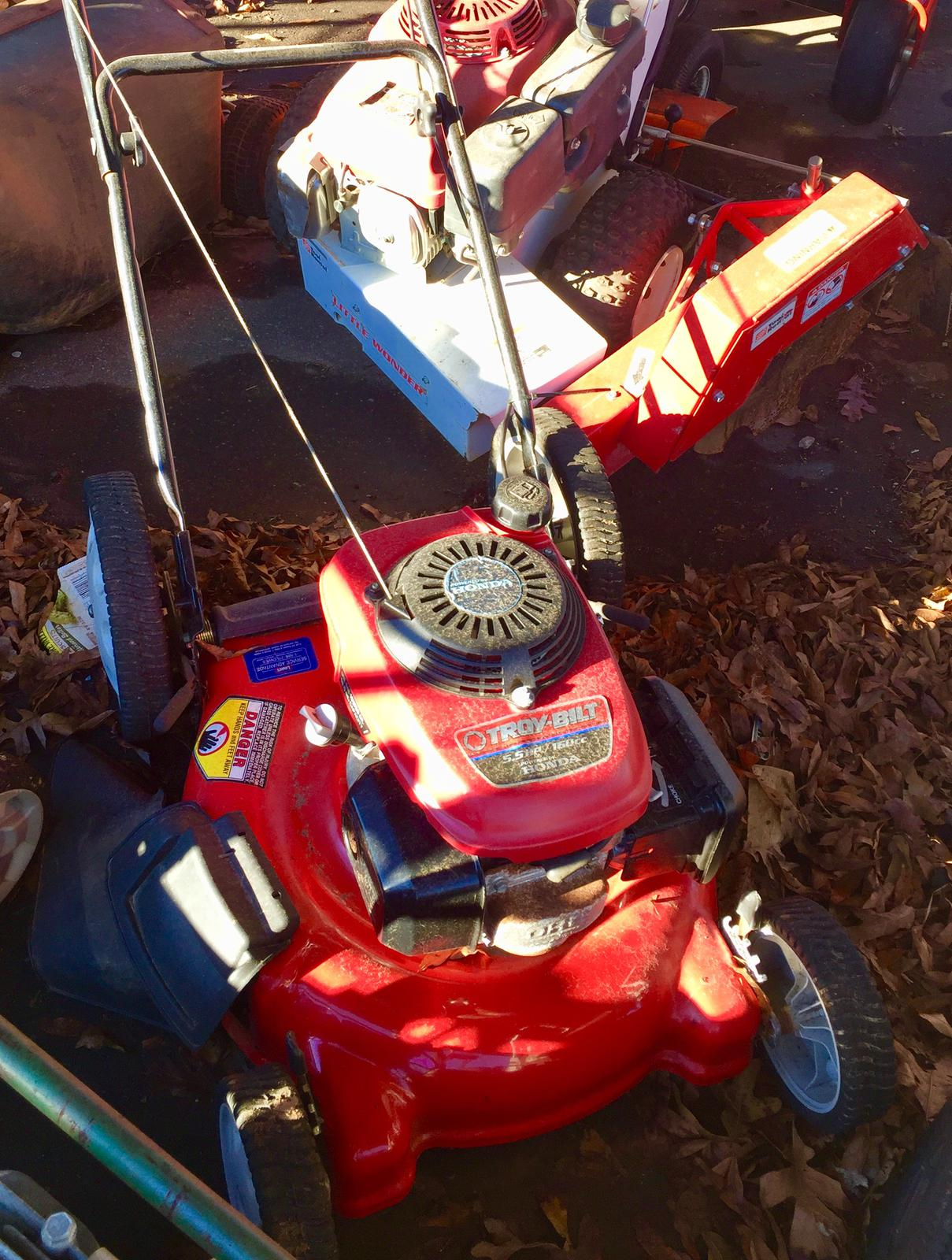 Troy Bilt 5 5 HP Self Propel for sale in Hickory NC