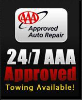 24/7 AAA Approved Towing Available!