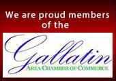 We are proud members of the Gallatin Chamber of Commerce.