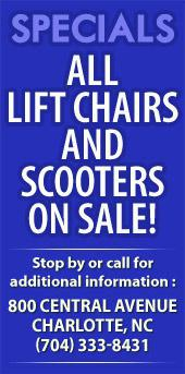 Specials All Lift Chairs and Scooters on Sale!