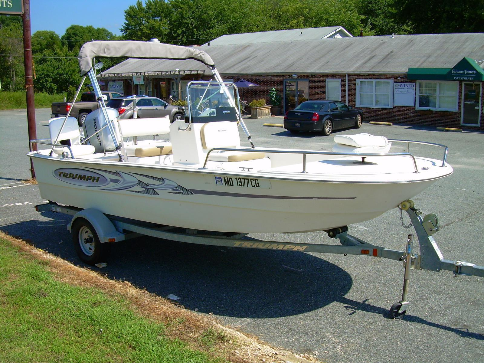 2014 triumph boats fishing boat 1700 skiff cc for sale in north