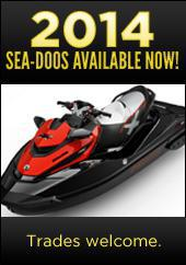 2014 Sea-Doos available now! Trades welcome.