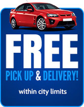 Free Pickup and Delivery (within city limits)!