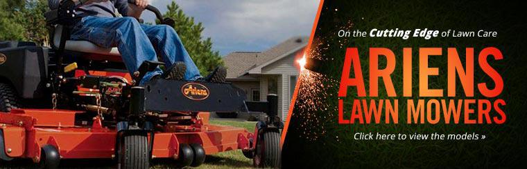 Ariens Lawn Mowers: Click here to view the models.