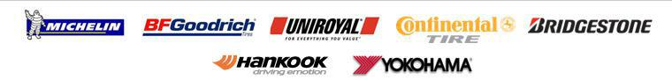 We carry products from Michelin®, BFGoodrich®, Uniroyal®, Cooper Tires, and Firestone.
