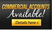 Commercial Accounts Available