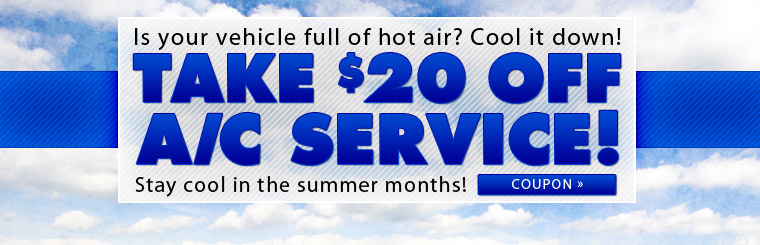 Vehicle Air Conditioning Service Coupon, Rockville Centre, NY