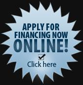 Apply for financing NOW online! Click here.