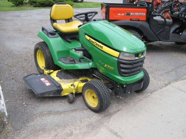 2012 John Deere Select Series™ X500 24 hp with 54-in  Deck