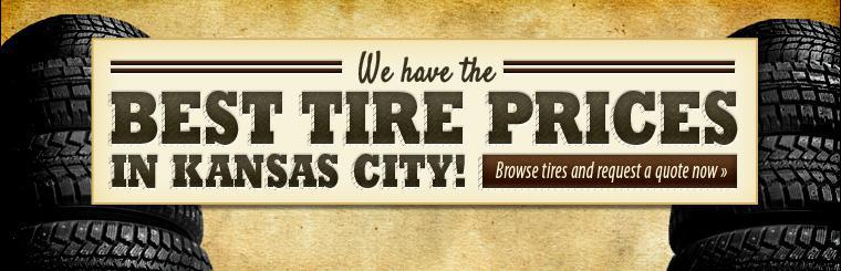 Best Tire Price in Kansas CIty
