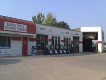 Earl's Tire and Service Center: 303 Scott Street Des Moines, IA