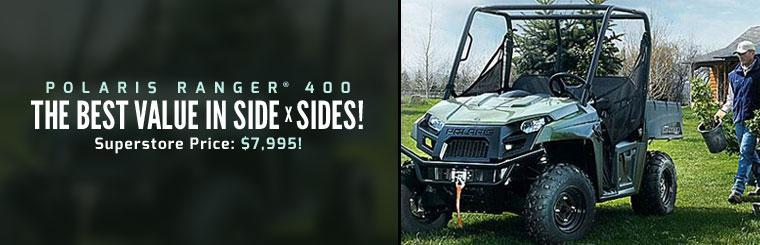 Click here to view the 2013 Polaris Ranger® 400.