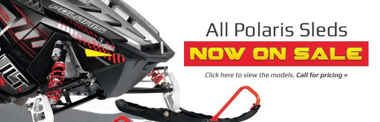All Polaris Sleds Now on Sale: Click here to view the models.