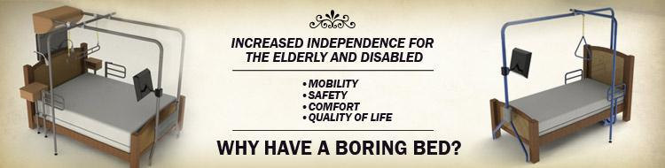 We provide increased independence for the elderly and disabled, and we offer free local delivery and setup!