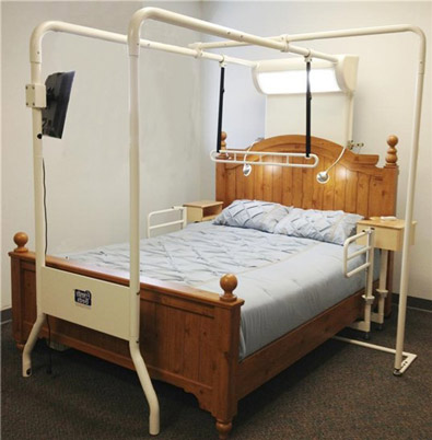 Strong Trapeze & Transfer Bed System for Twin-Double-Queen-King Beds