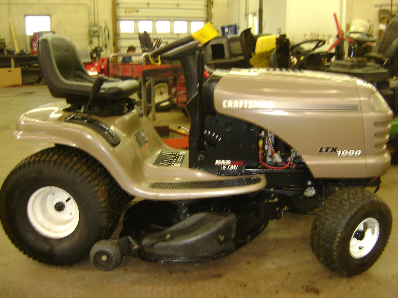 SEARS CRAFTSMAN LTX1000 for sale in Massillon, OH. Doc\'s Lawn and ...